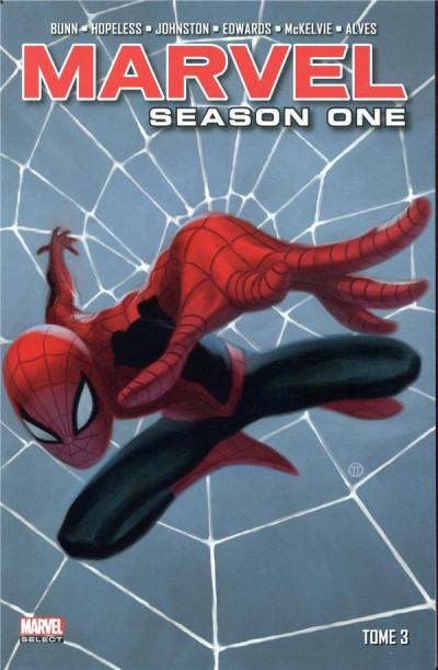 Couverture Marvel - season one tome 3
