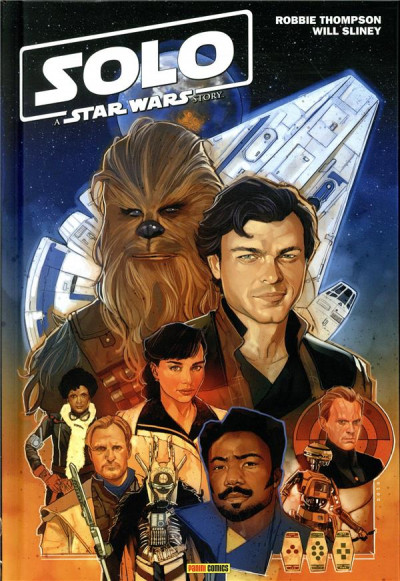 Couverture Solo - A star wars story