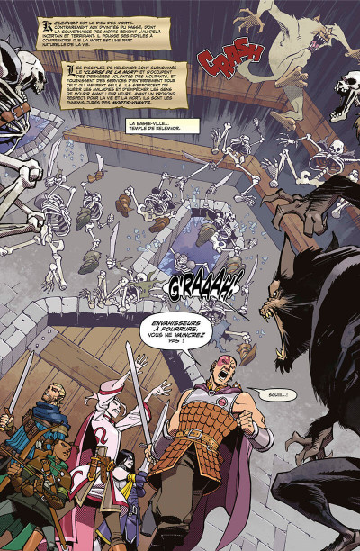 Page 5 Dungeons et dragons tome 2 - Les ombres du vampire