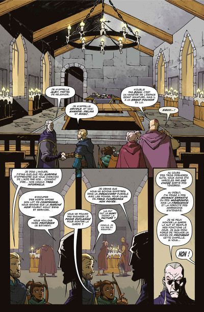 Page 9 Dungeons et dragons tome 2 - Les ombres du vampire