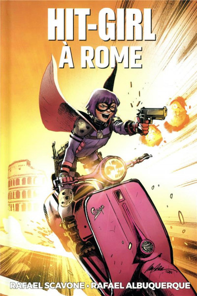 Couverture Hit-Girl tome 3 - Hit-Girl à Rome