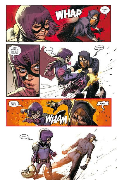 Page 8 Hit-Girl tome 3 - Hit-Girl à Rome