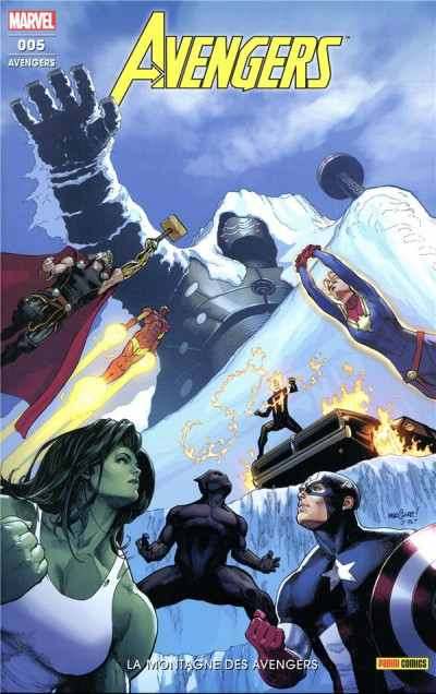 Couverture Avengers (fresh start) tome 5