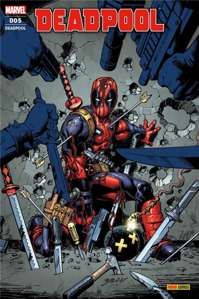 Couverture Deadpool (fresh start) tome 5