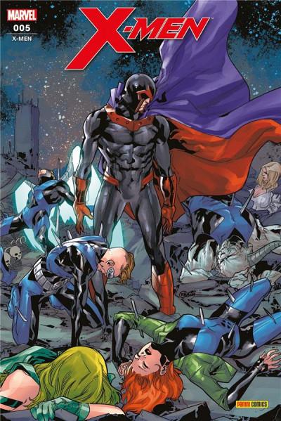 Couverture X-men (fresh start) tome 5