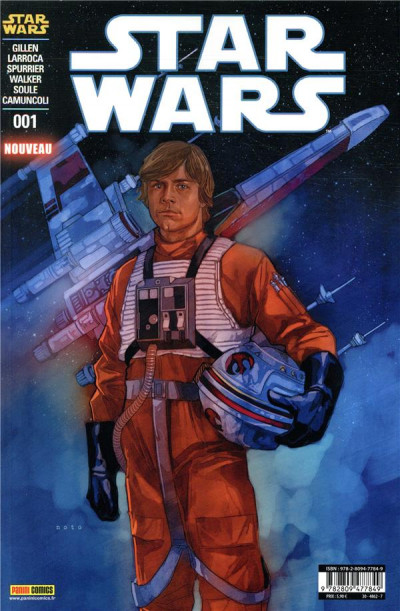 Couverture Star Wars - fascicule série 3 tome 1 (cover 1/2)