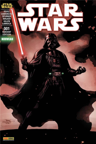 Couverture Star Wars - fascicule série 3 tome 1 (cover 2/2)