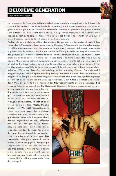 Page 3 Nous sommes les nouveaux mutants