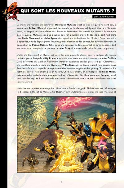Page 4 Nous sommes les nouveaux mutants