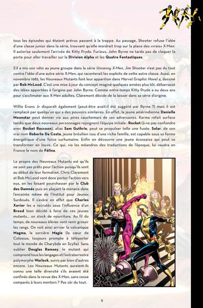 Page 5 Nous sommes les nouveaux mutants