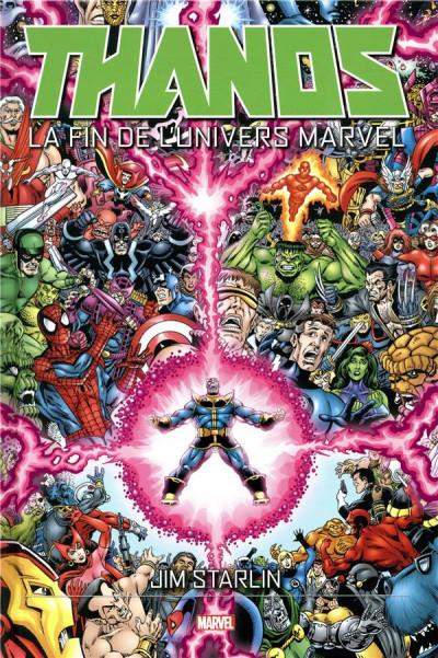 Couverture Thanos - La fin de l'univers marvel