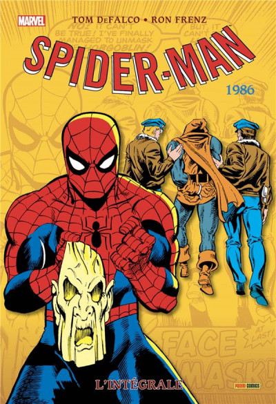 Couverture Amazing Spider-man - intégrale tome 44 - 1986