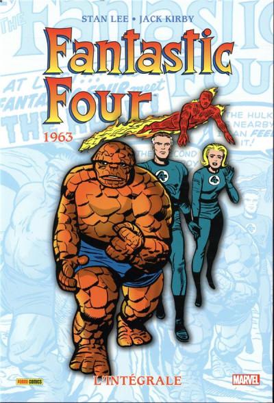 Couverture Fantastic four - intégrale tome 2 - 1963