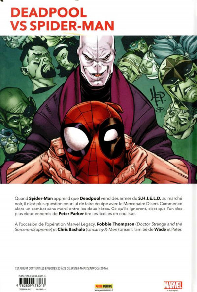 Dos Marvel legacy - Spider-man / Deadpool tome 1