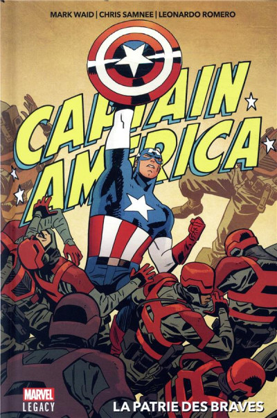 Couverture Marvel legacy - Captain America