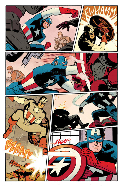 Page 9 Marvel legacy - Captain America