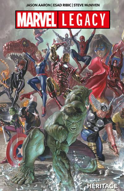 Couverture Marvel legacy - Héritage
