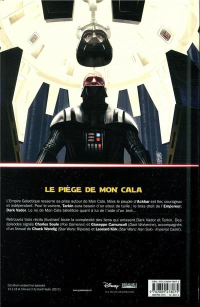 Dos Dark Vador - Le seigneur noir des sith tome 3