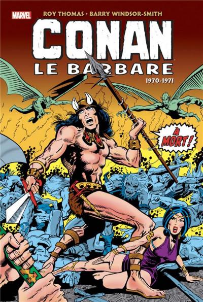 Couverture Conan le barbare - intégrale tome 1