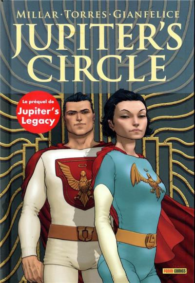 Couverture Jupiter's circle