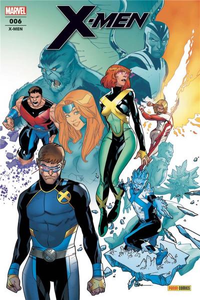 Couverture X-men (fresh start) tome 6