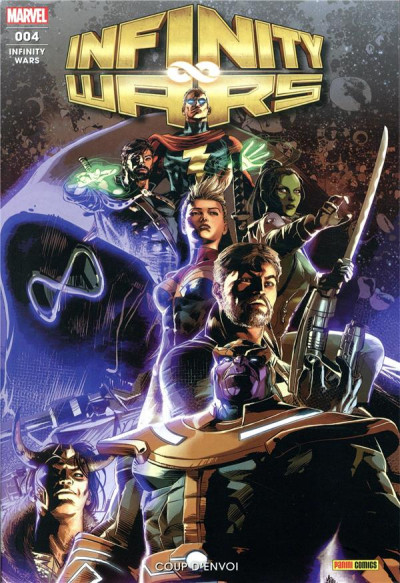 Couverture Infinity wars (fresh start) tome 4