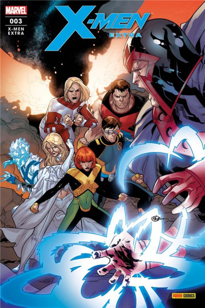 Couverture X-men extra (fresh start) tome 3
