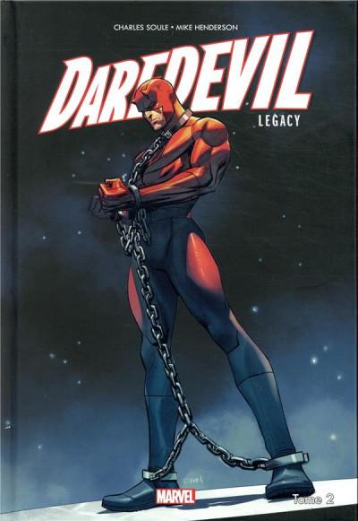 Couverture Daredevil legacy tome 2