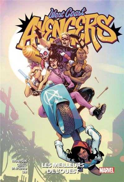 Couverture West coast Avengers