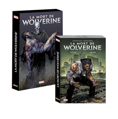 Couverture La mort de Wolverine - absolute