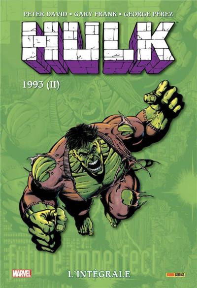 Couverture Hulk - intégrale tome 9