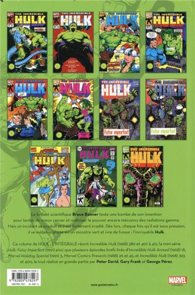 Dos Hulk - intégrale tome 9