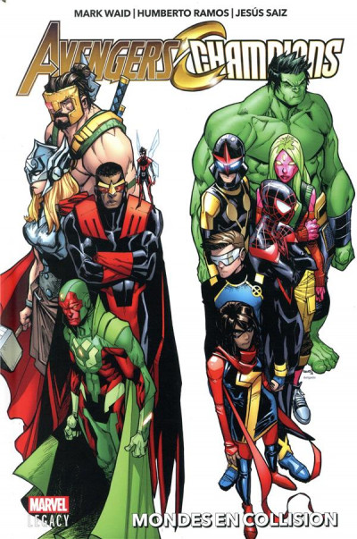 Couverture Marvel legacy - Avengers/Champions