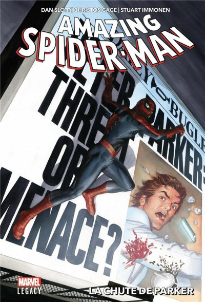 Couverture Marvel legacy - Amazing spider-man tome 1