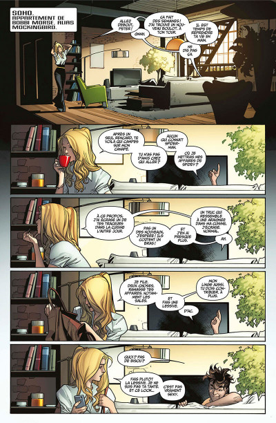 Page 5 Marvel legacy - Amazing spider-man tome 1