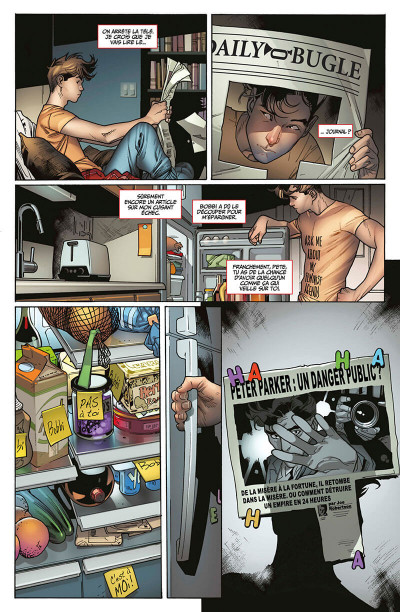 Page 8 Marvel legacy - Amazing spider-man tome 1