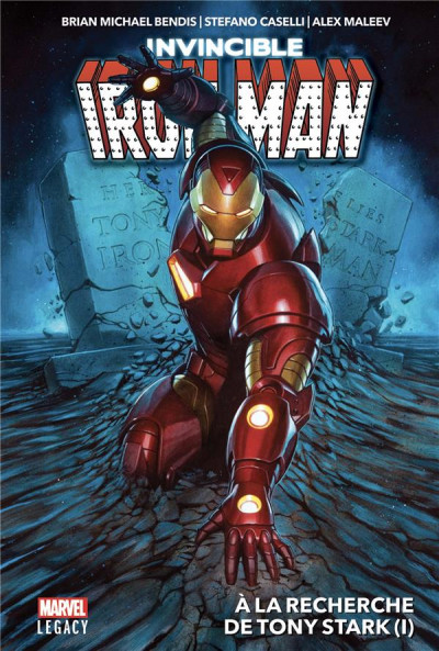 Couverture Marvel legacy - Iron man