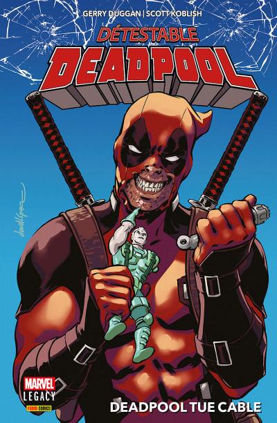 Couverture Marvel legacy - Détestable deadpool tome 1