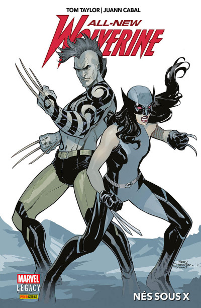 Couverture Marvel legacy - All-new wolverine tome 1