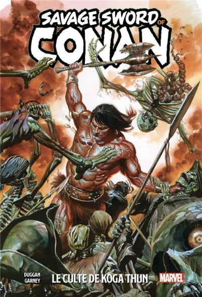 Couverture The savage sword of Conan tome 1