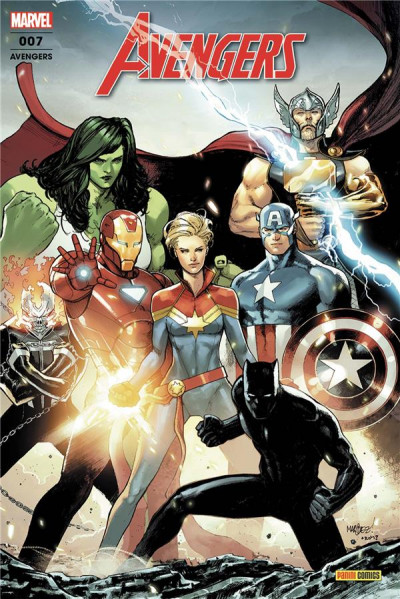 Couverture Avengers (fresh start) tome 7