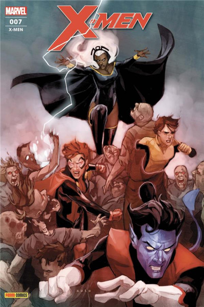 Couverture X-men (fresh start) tome 7