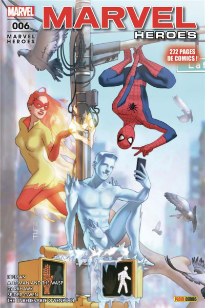 Couverture Marvel heroes tome 6