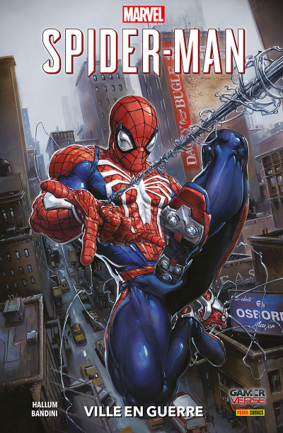 Couverture Marvel's Spider-man - City at war