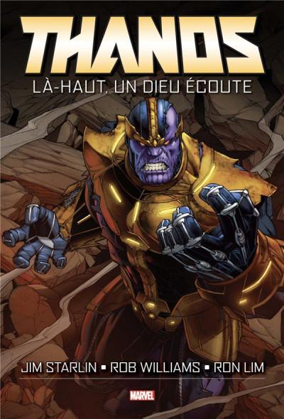 Couverture Thanos - Là-haut, un dieu écoute