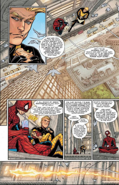 Page 1 Peter Parker - Spectacular Spider-man tome 1