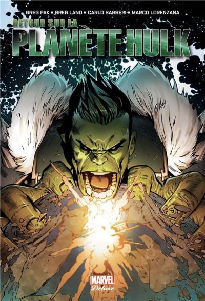 Couverture Retour sur la planète Hulk