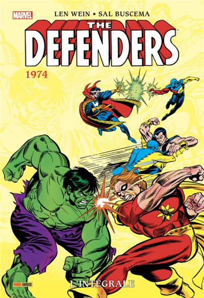 Couverture Defenders - intégrale tome 3