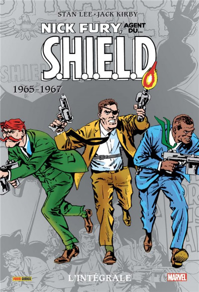 Couverture Nick Fury - intégrale tome 1 - 1965-1967