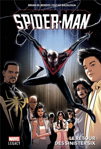 Couverture Marvel legacy - Spider-man